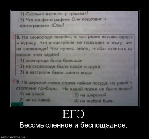 все задания егэ по русскому языку 2012 год